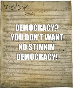 Constitution of US DEMOCRACY