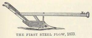 first steel plow