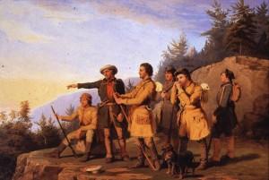 Daniel Boone's First View of Kentucky
