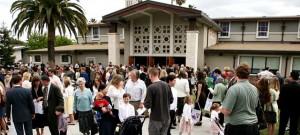 Outside-Church-Gathering