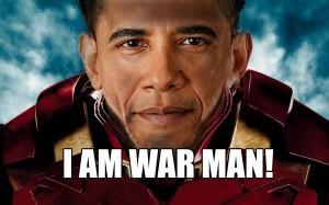 obama war man