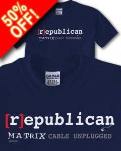 republican_Matrix_50_percent_off__T_shirt_display
