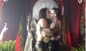 Homosexuals_honor_their_God_Baphomet