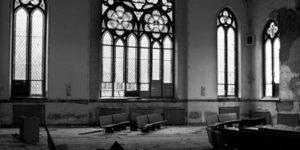 dimantled church
