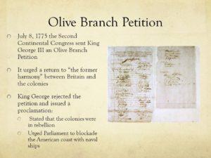 Ovie Branch Petition