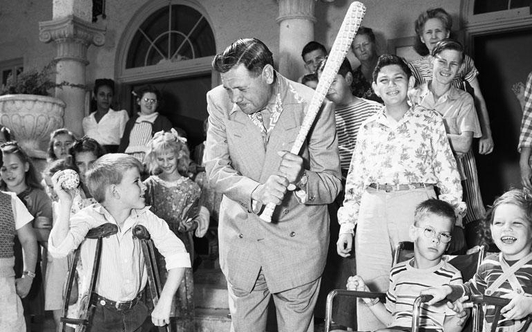 Babe Ruth Catholic Philanthropist